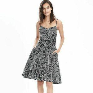 BANANA REPUBLIC Eyelet Spaghetti Strap Dress 6